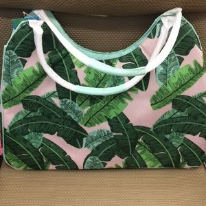 Handbags - Insulated beach tote with pouch